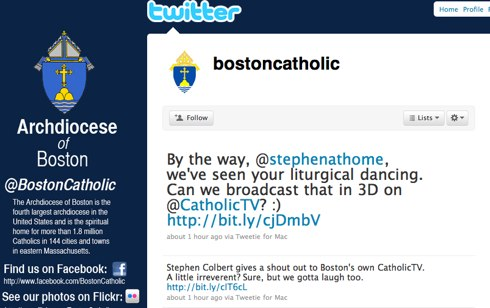 By the way @stephenathome, we've seen your liturgical dancing. Can we broadcast that in 3D on @CatholicTV?