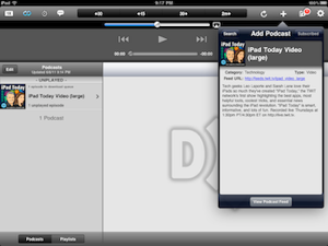 Downcast for iPad