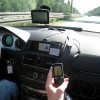 GPS and Phone in the car